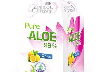 99% Aloe vera gel - UP s vitaminem C