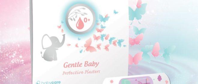 PureMimi 0+ Jemné dětské ochranné náplasti s polštářkem
