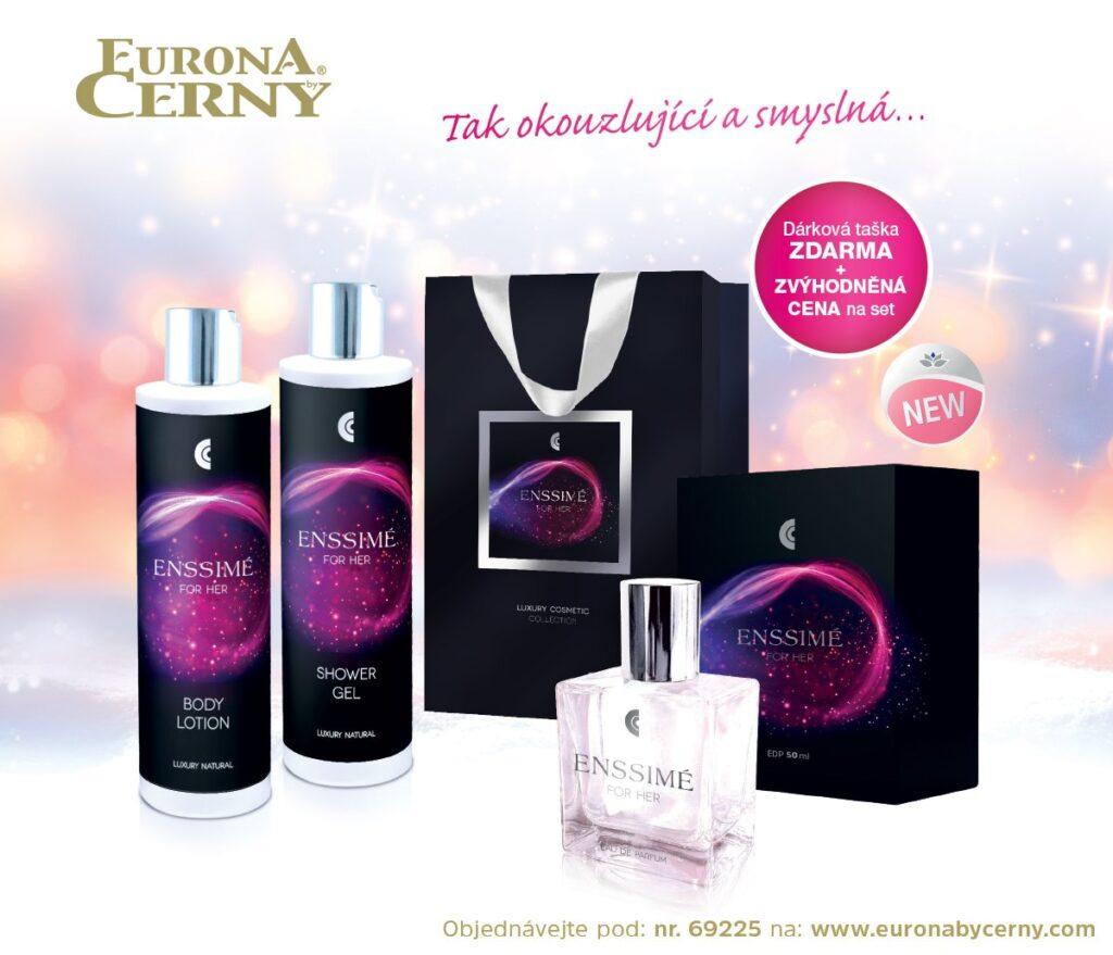 Nechte se inspirovat... 🎁🎄 Fascinující dámská vůně exkluzivní kosmetické kolekce ENSSIMÉ pro něj a pro ni potěší každou ženu! ❤️
